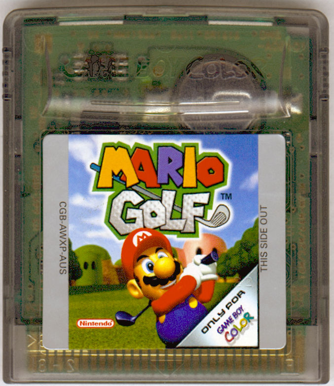 Mario Golf  Game Boy Color Media