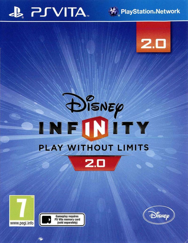 Disney Infinity Edition 2 0 Marvel Super Heroes 2015 Ps Vita Box Cover Art Mobygames