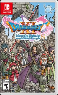 постер игры Dragon Quest XI S: Echoes of an Elusive Age - Definitive Edition