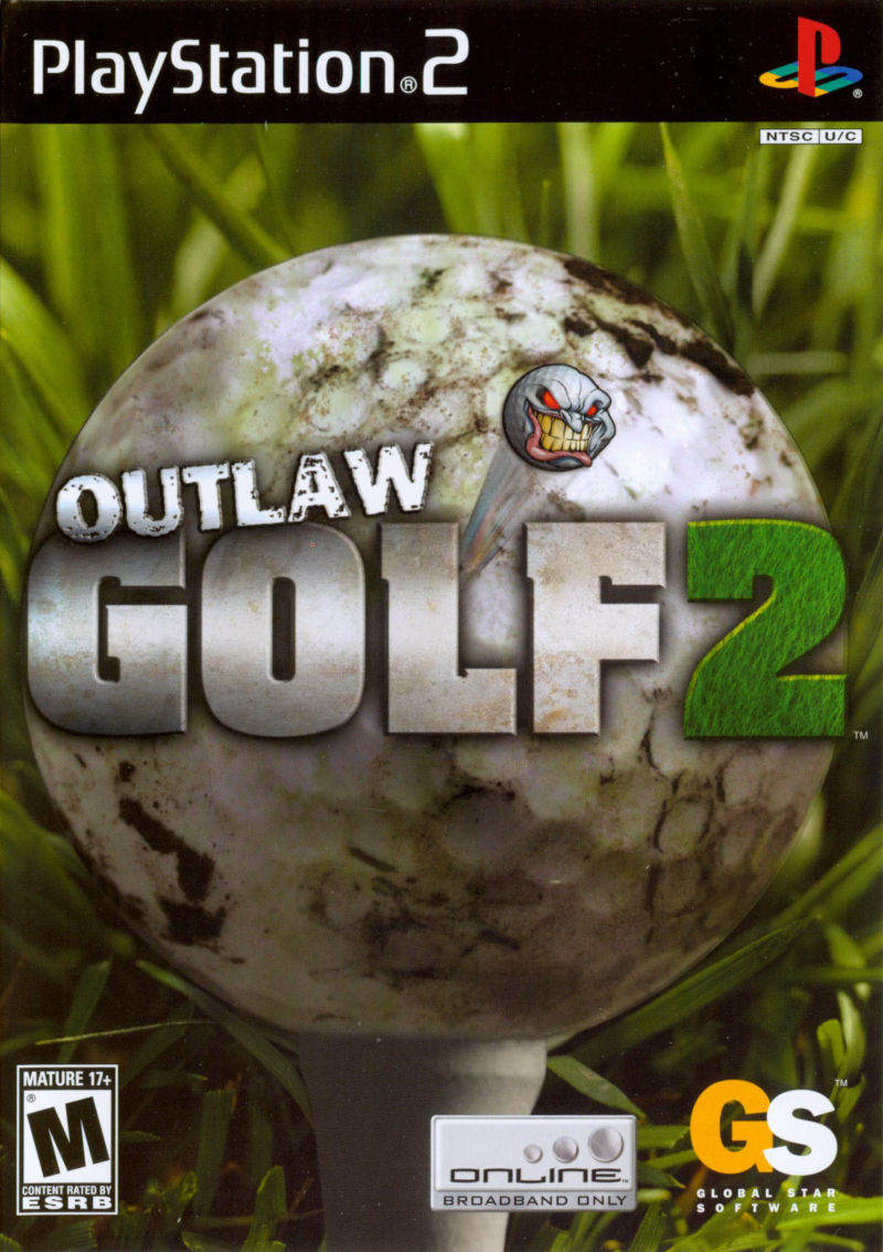 Outlaw Golf 2 PlayStation 2 Front Cover