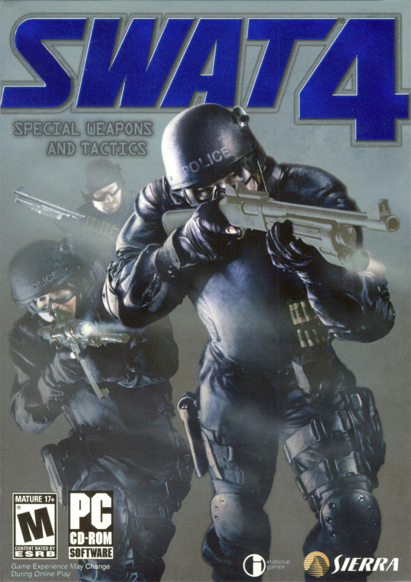 SWAT 4 Windows Front Cover