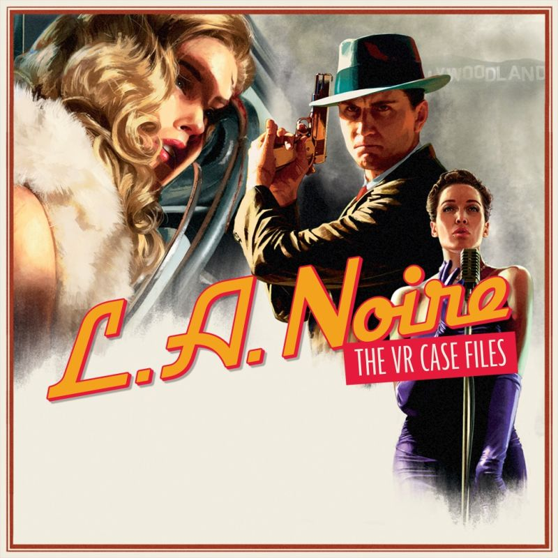 L.A. Noire: The VR Case Files PlayStation 4 Front Cover