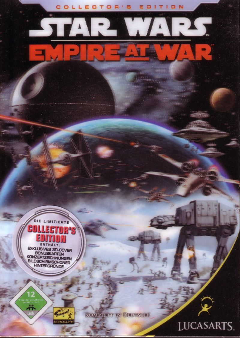 Star Wars: Empire at War (Collector's Edition) Windows Front Cover