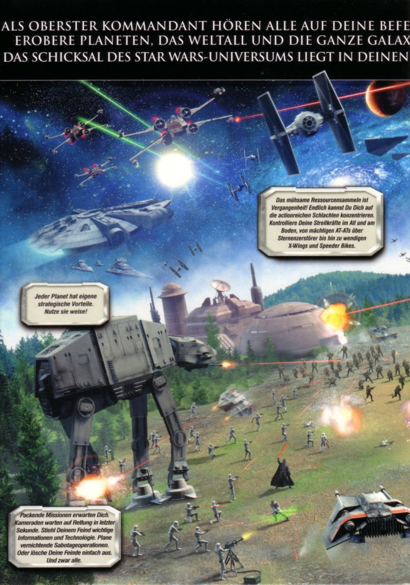 Star Wars: Empire at War (Collector's Edition) Windows Inside Cover Left Flap