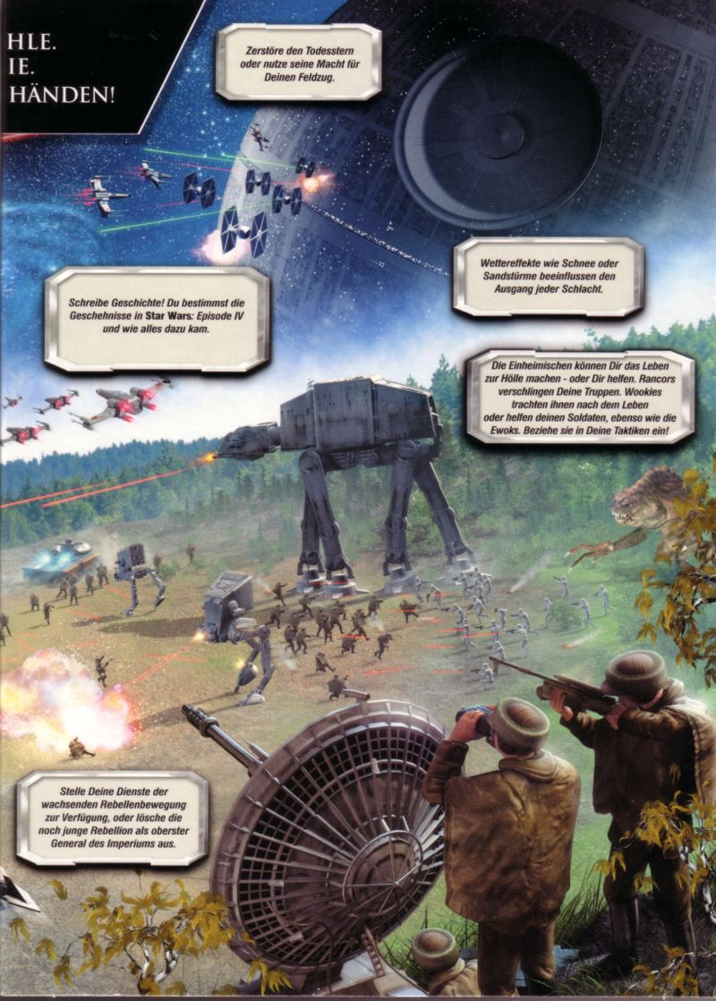 Star Wars: Empire at War (Collector's Edition) Windows Inside Cover Right Flap