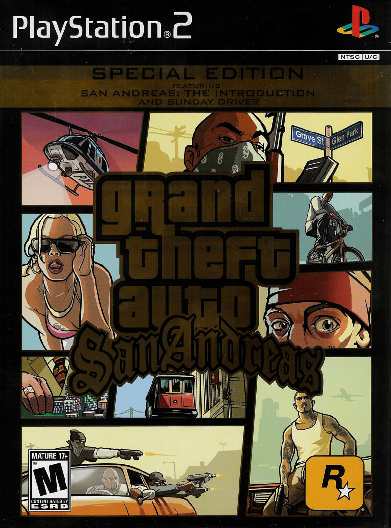 New Playstation 5 >> Grand Theft Auto: San Andreas - Special Edition for PlayStation 2 (2005) - MobyGames