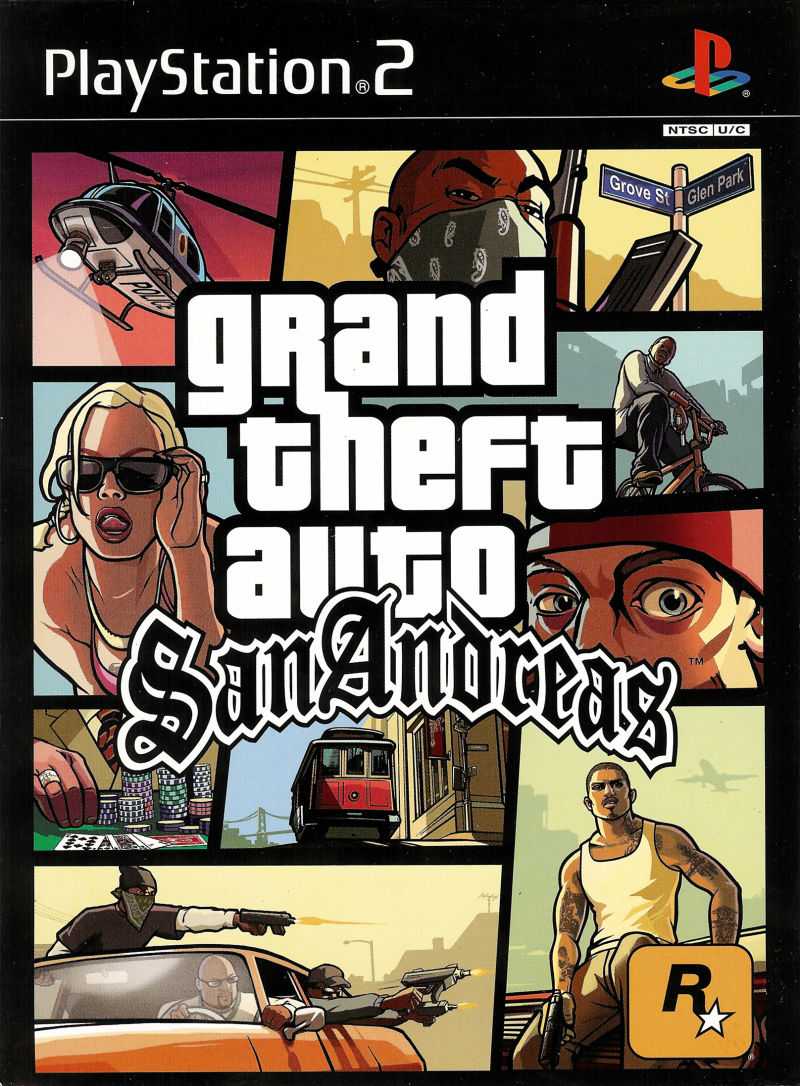 Grand Theft Auto: San Andreas (Special Edition) PlayStation 2 Other Game Case - Front Cover