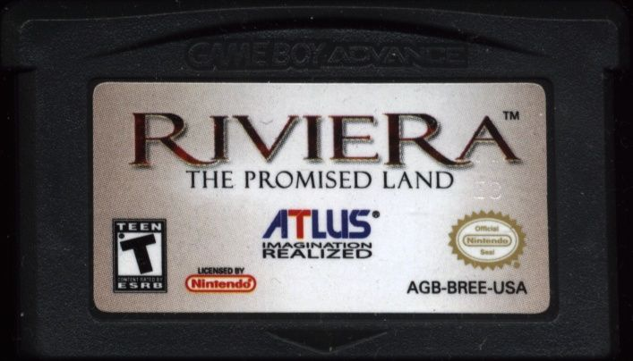 Riviera: The Promised Land Game Boy Advance Media