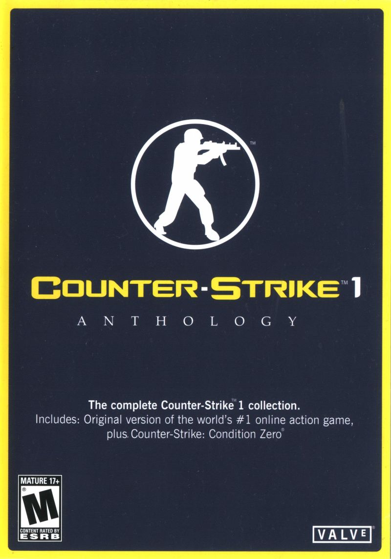 Counter-Strike 1 Anthology Windows Front Cover
