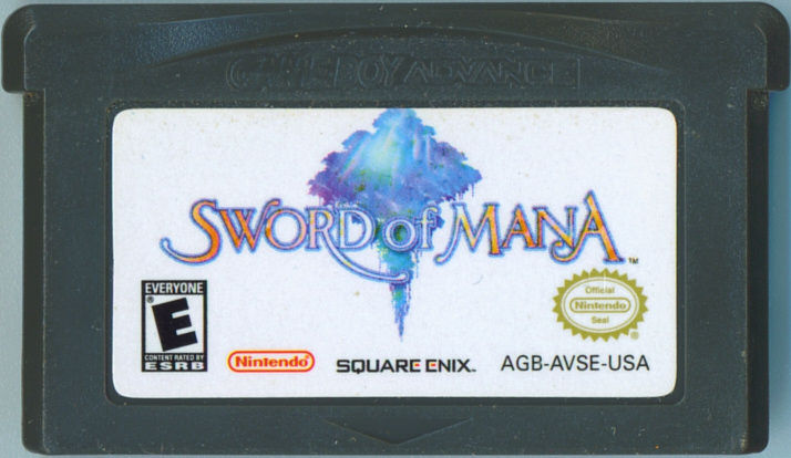 Sword of Mana Game Boy Advance Media