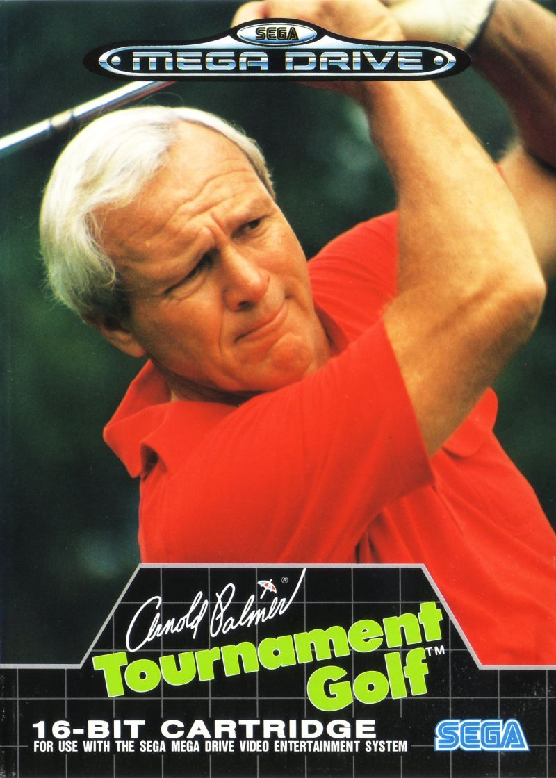 Arnold Palmer Tournament Golf Genesis Front Cover