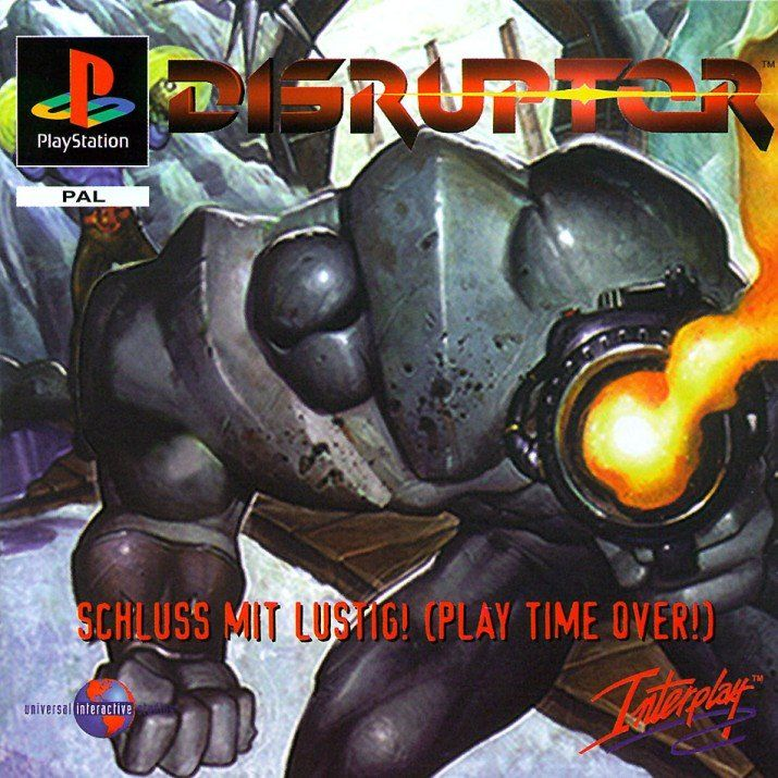 Disruptor PlayStation Front Cover