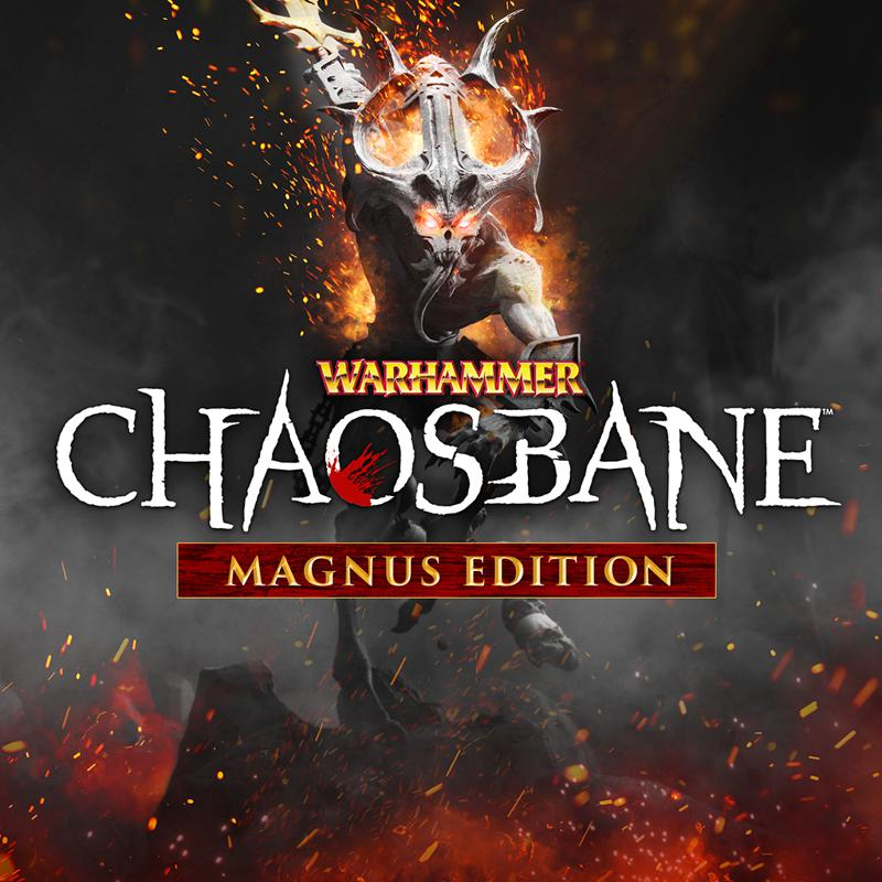 Warhammer: Chaosbane - Magnus Edition PlayStation 4 Front Cover