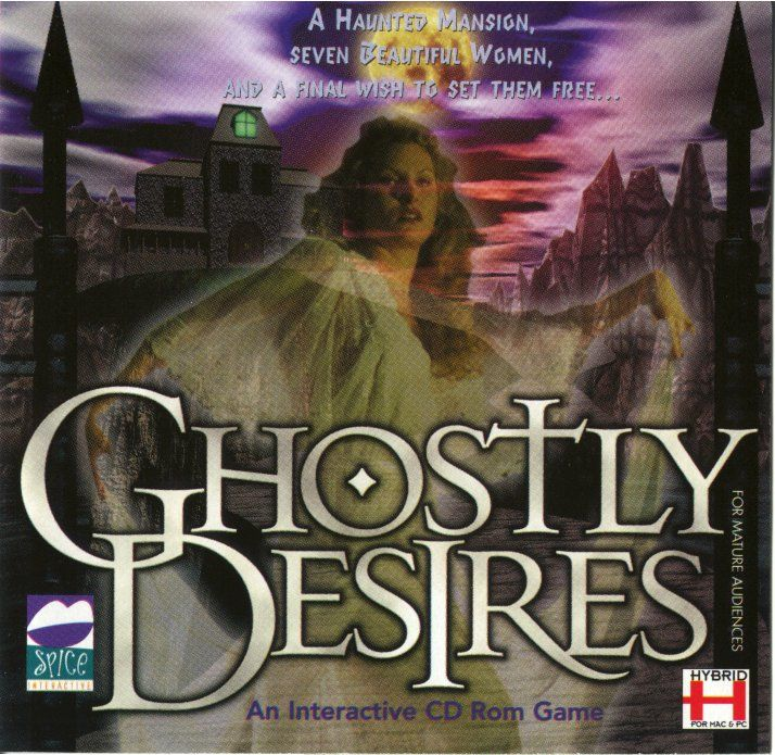 Ghostly Desires Macintosh Front Cover