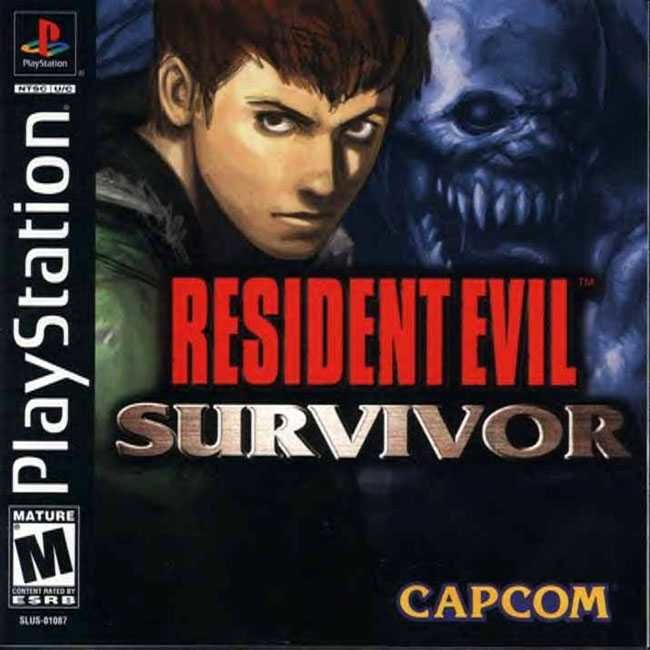 Resident Evil: Survivor PlayStation Front Cover