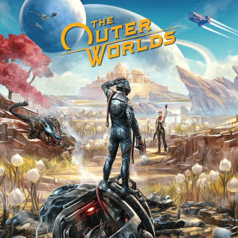 постер игры The Outer Worlds