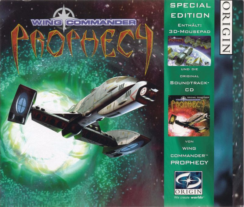 Wing Commander: Prophecy (Special Edition) Windows Front Cover