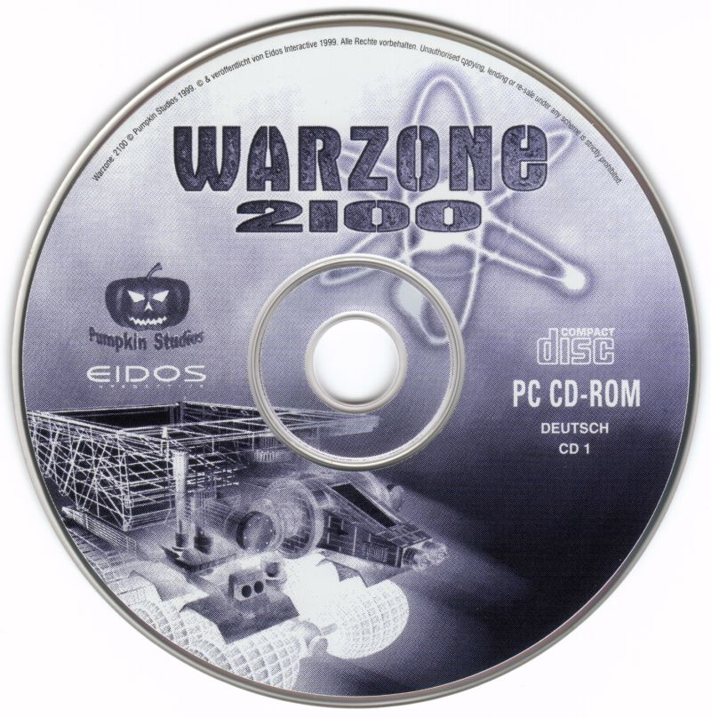 Warzone 2100 Windows Media Disc 1