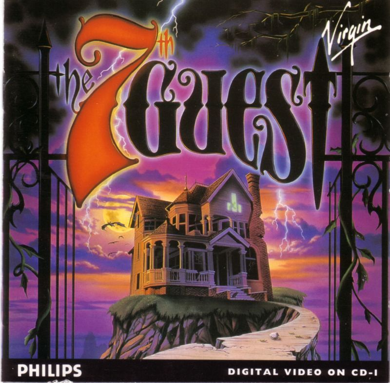 The 7th Guest CD-i Front Cover