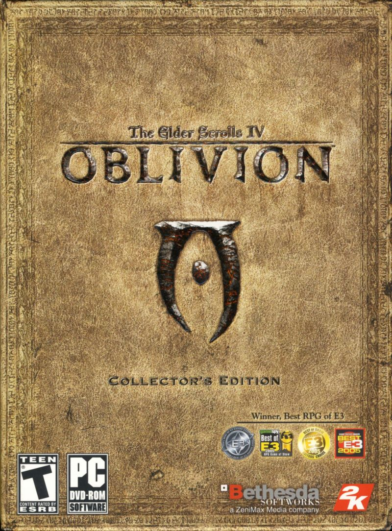 The Elder Scrolls IV: Oblivion (Collector's Edition) Windows Front Cover