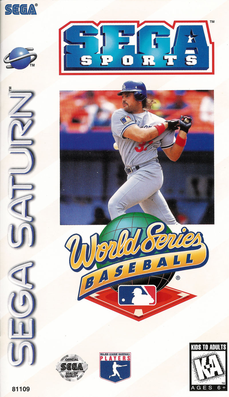 World Series Baseball SEGA Saturn Front Cover
