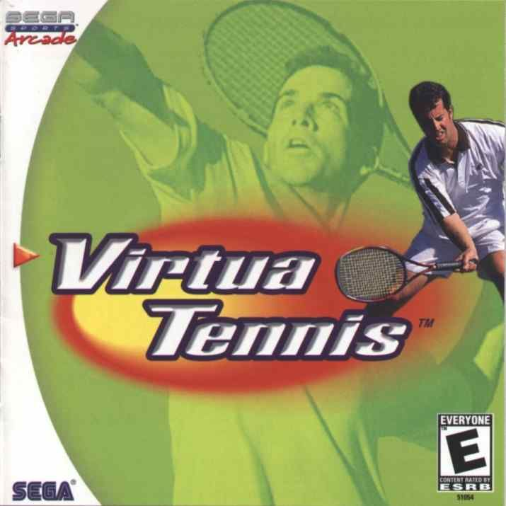 Virtua Tennis Dreamcast Front Cover