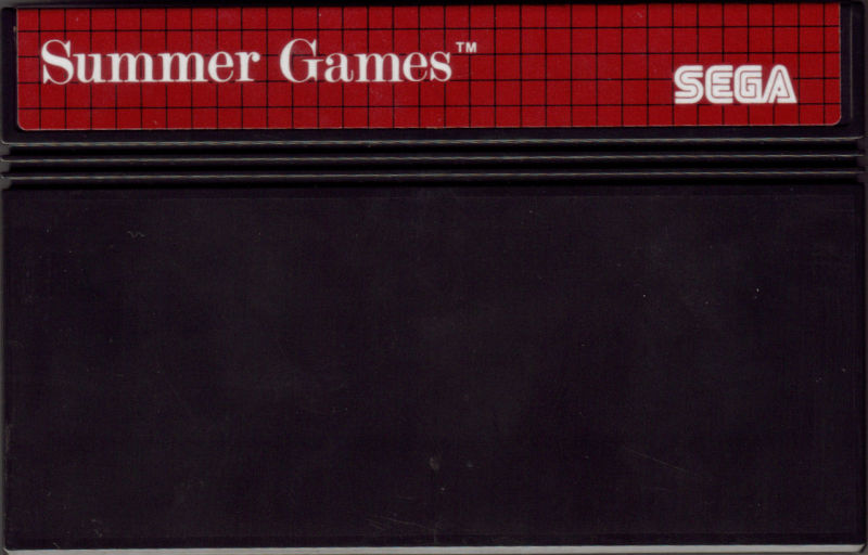 Summer Games SEGA Master System Media