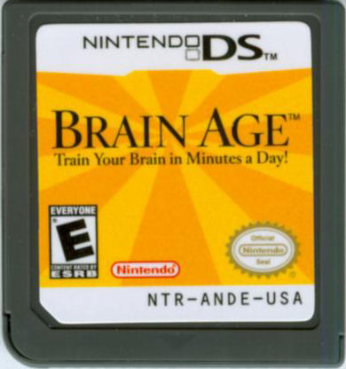 Brain Age: Train Your Brain in Minutes a Day! Nintendo DS Media