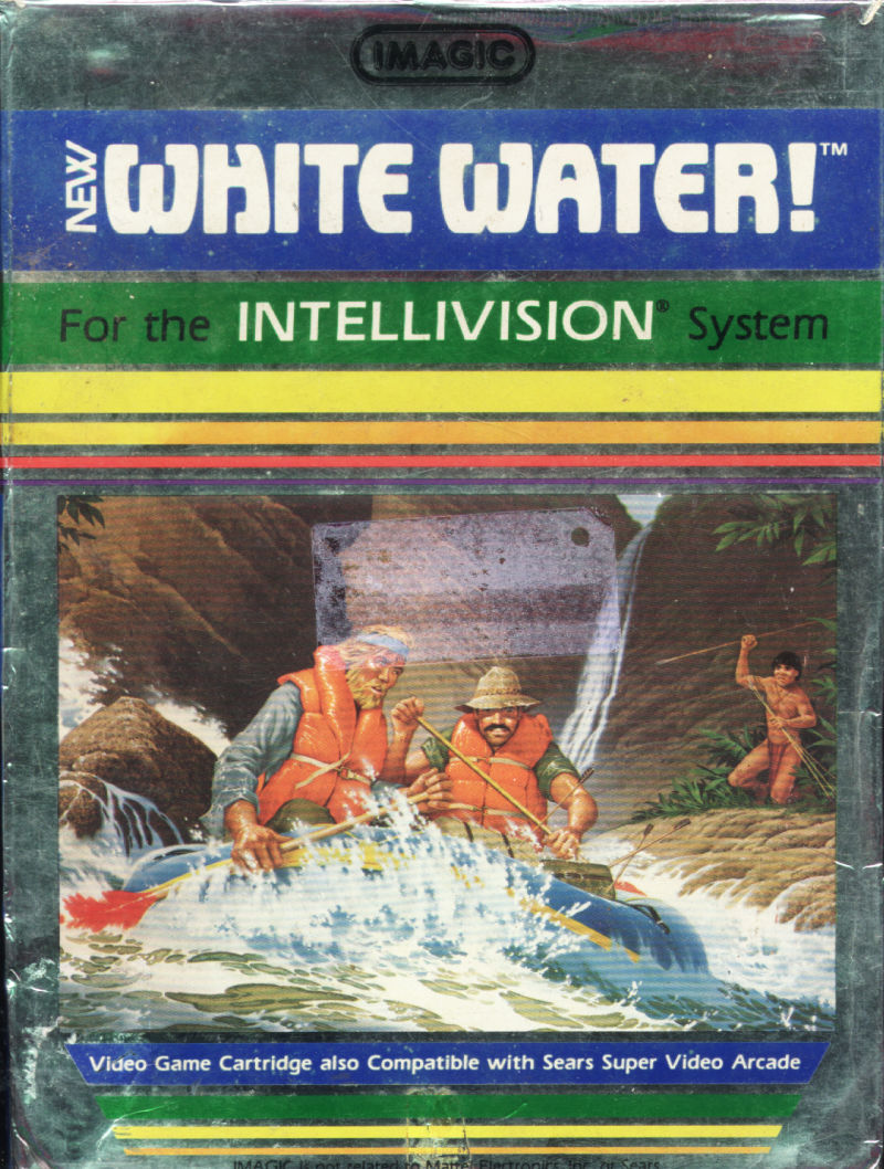 White Water! Intellivision Front Cover