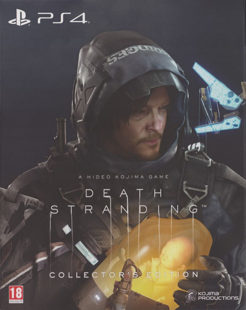 Death Stranding (Collector's Edition) PlayStation 4 Front Cover
