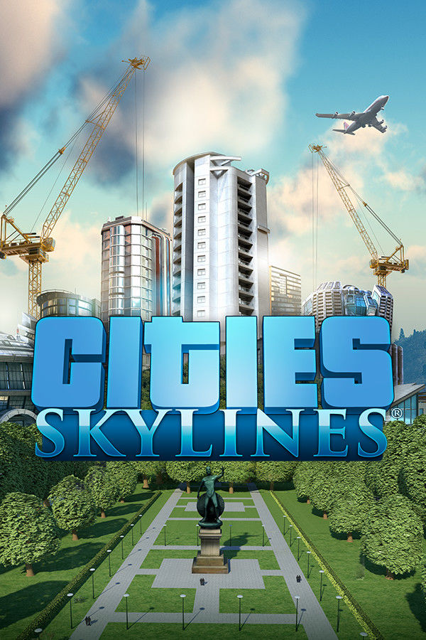 Cities: Skylines Linux Front Cover Steam Client cover
