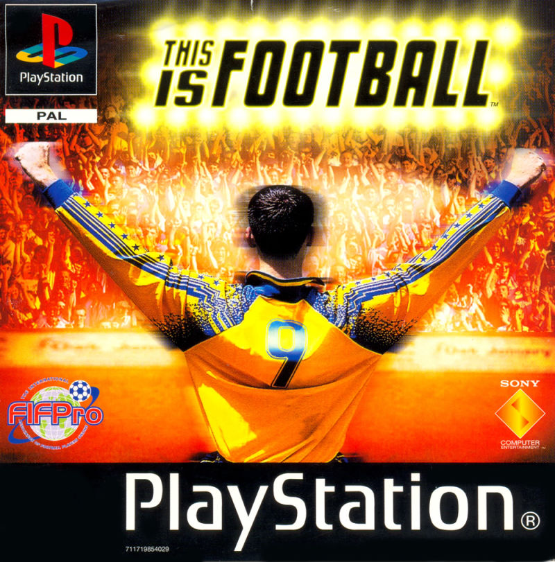 This Is Football PlayStation Front Cover