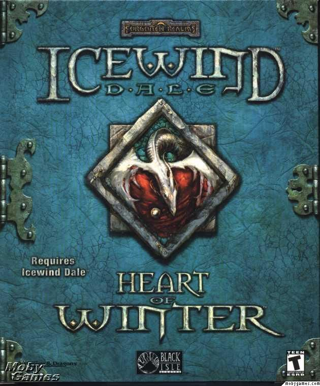 Icewind Dale: Heart of Winter Windows Front Cover