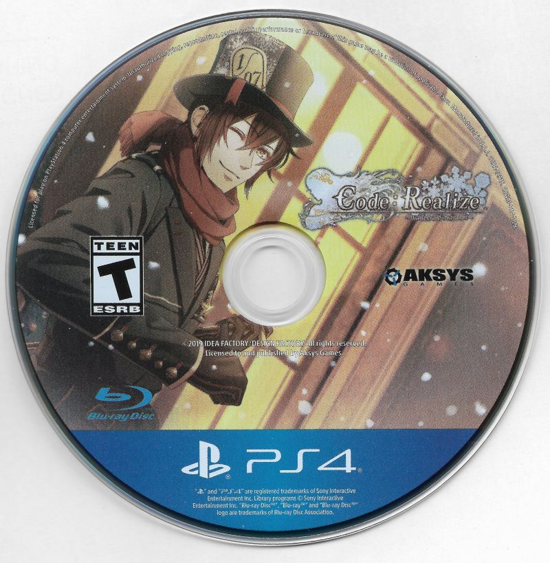Code: Realize - Wintertide Miracles PlayStation 4 Media