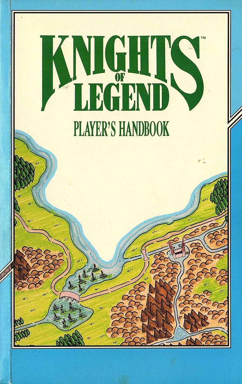 Knights of Legend DOS Manual