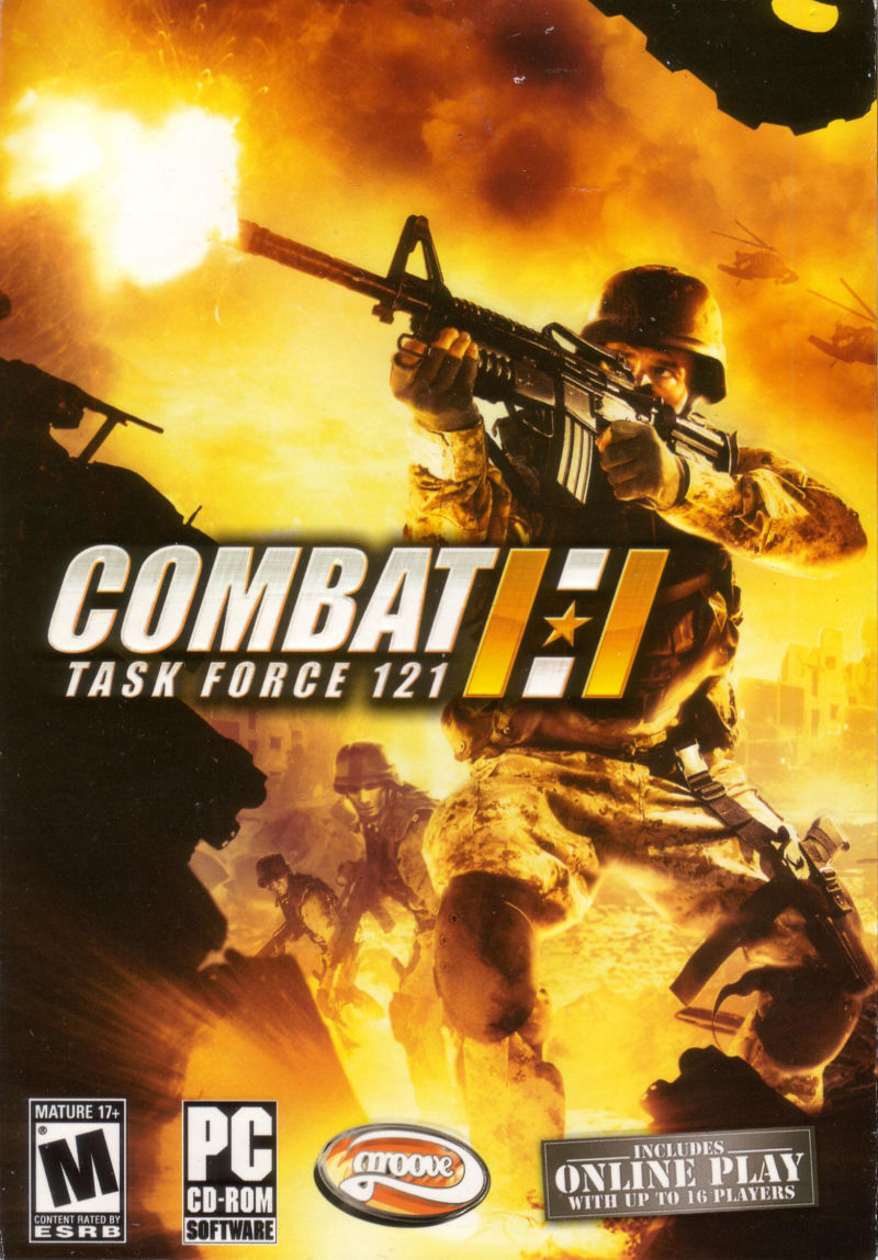 Combat: Task Force 121 Windows Front Cover