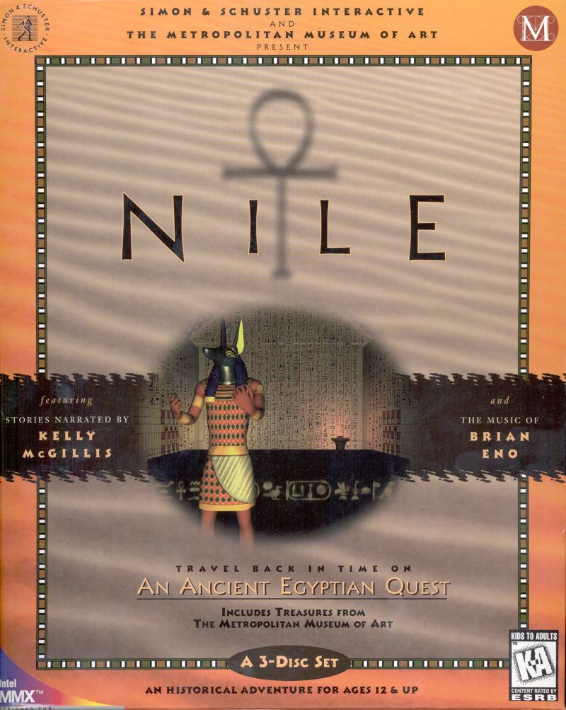Nile: An Ancient Egyptian Quest Windows Front Cover