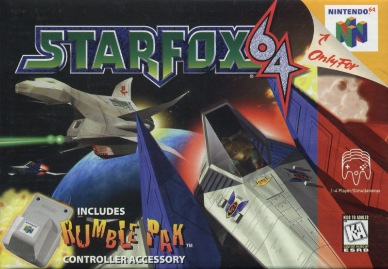 Star Fox 64 Nintendo 64 Front Cover