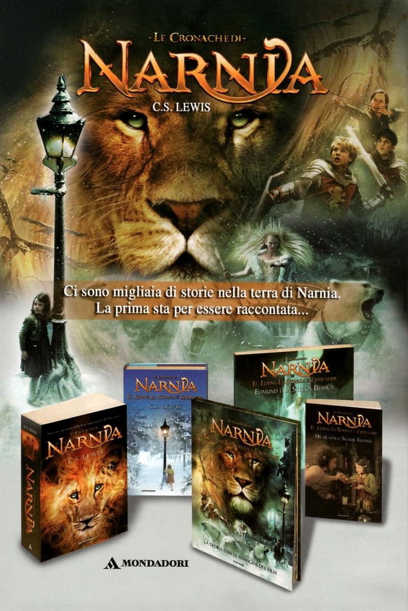 The Chronicles of Narnia: The Lion, the Witch and the Wardrobe Windows Manual Back