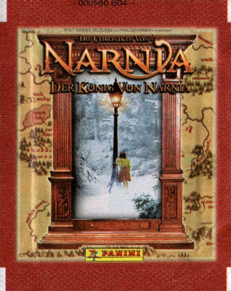 The Chronicles of Narnia: The Lion, the Witch and the Wardrobe Windows Extras Trade Stickers Pack - Front