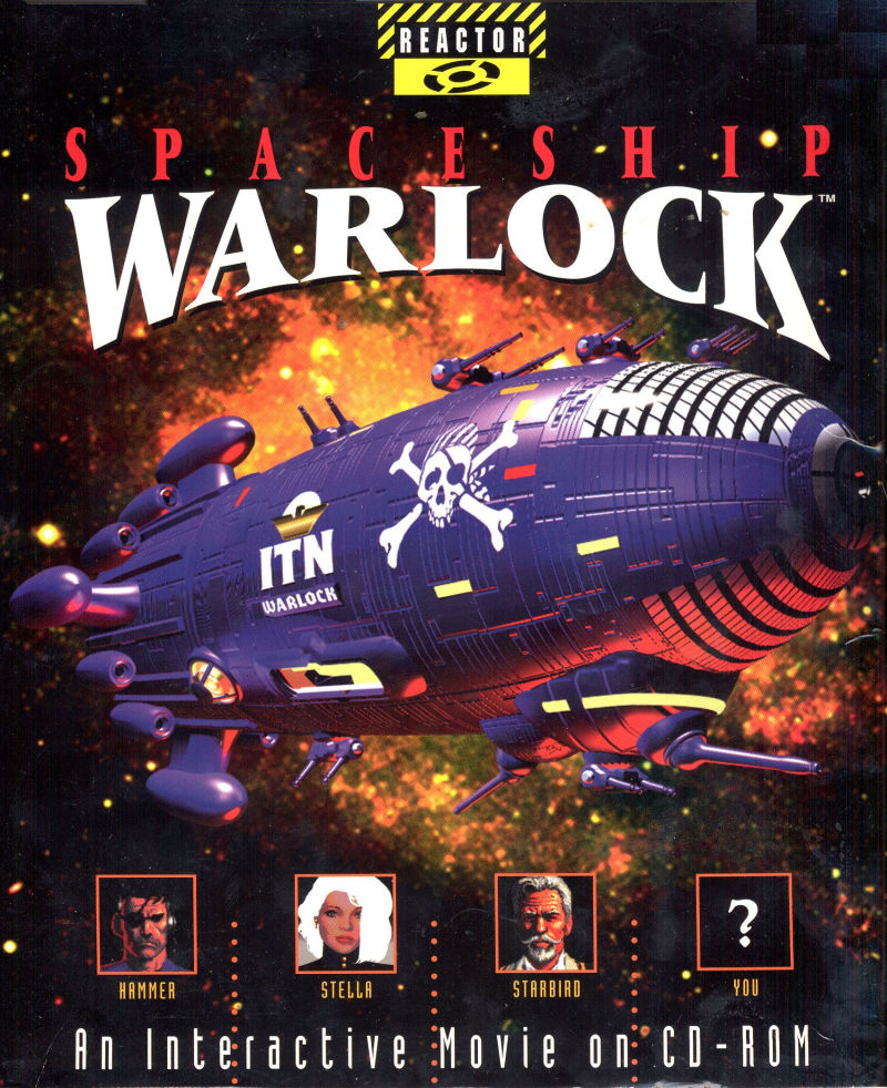 Spaceship Warlock Windows 3.x Front Cover