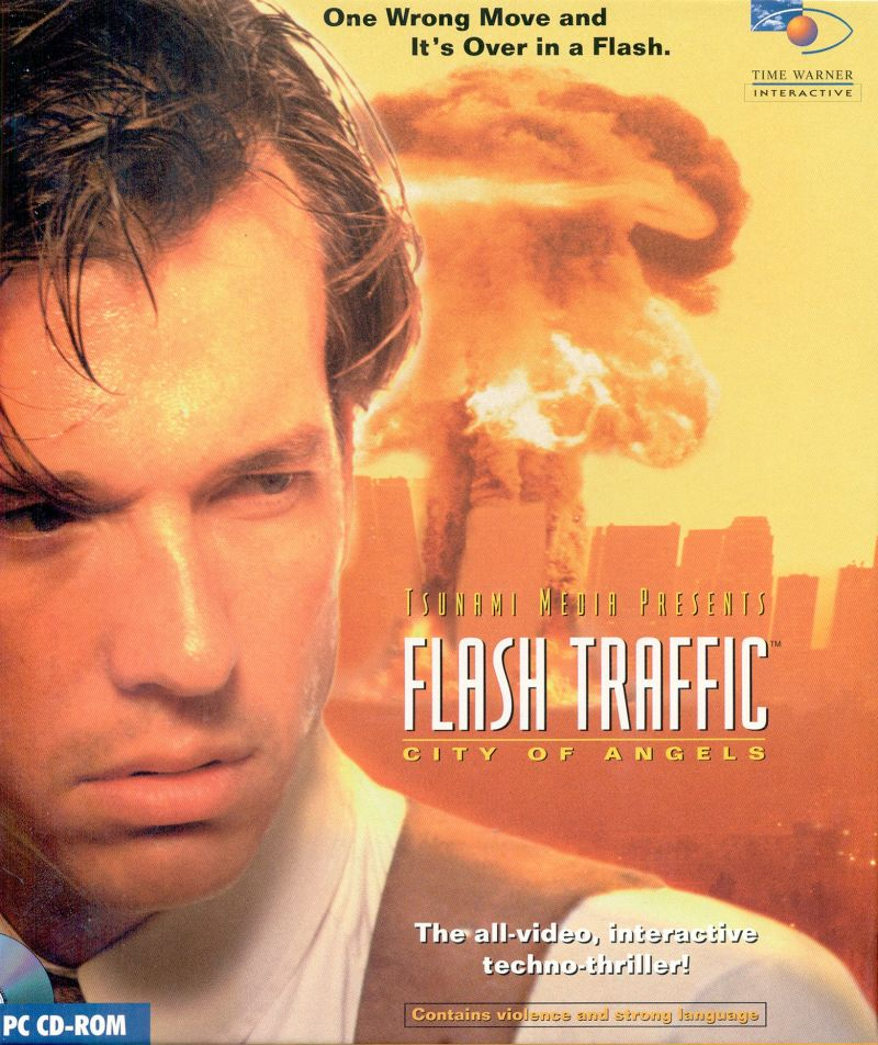 Flash Traffic:  City of Angels DOS Front Cover