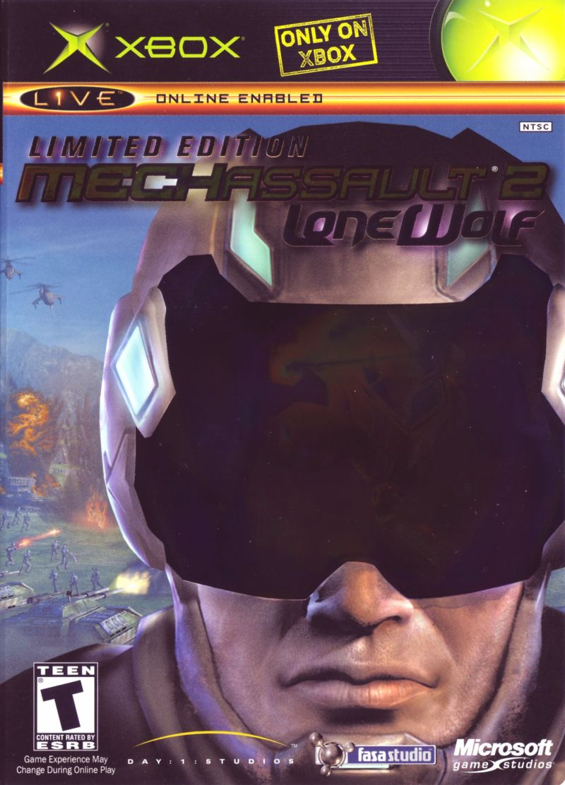MechAssault 2: Lone Wolf (Limited Edition) for Xbox (2004