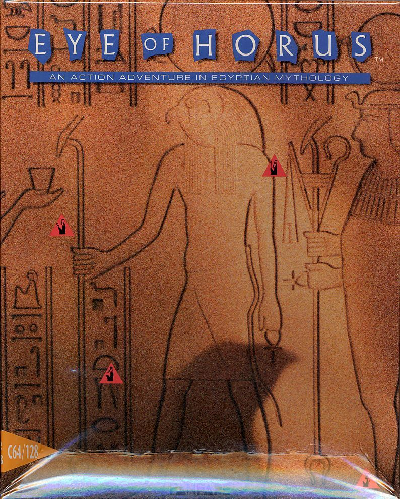 Eye of Horus Commodore 64 Front Cover