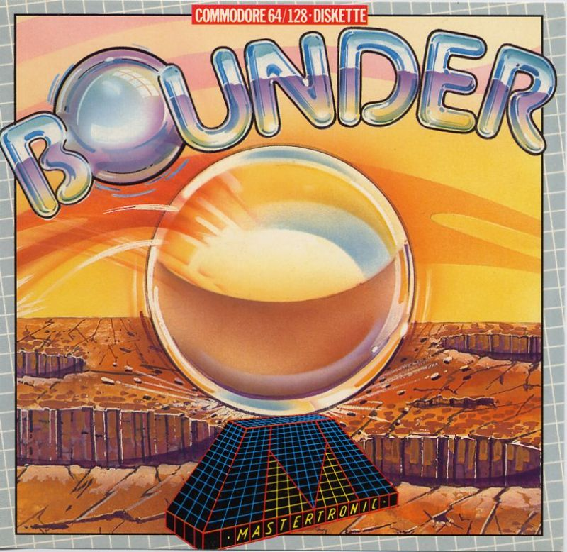 Bounder Commodore 64 Front Cover