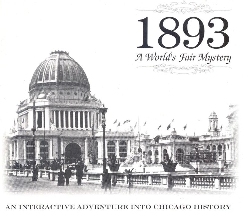 1893: A World's Fair Mystery Macintosh Front Cover