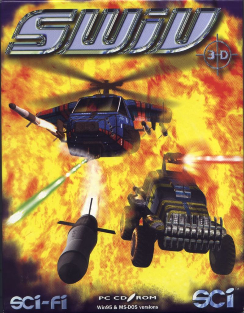SWIV 3D DOS Front Cover