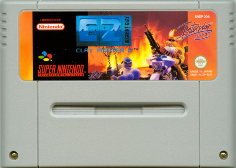 Clay Fighter 2: Judgement Clay SNES Media