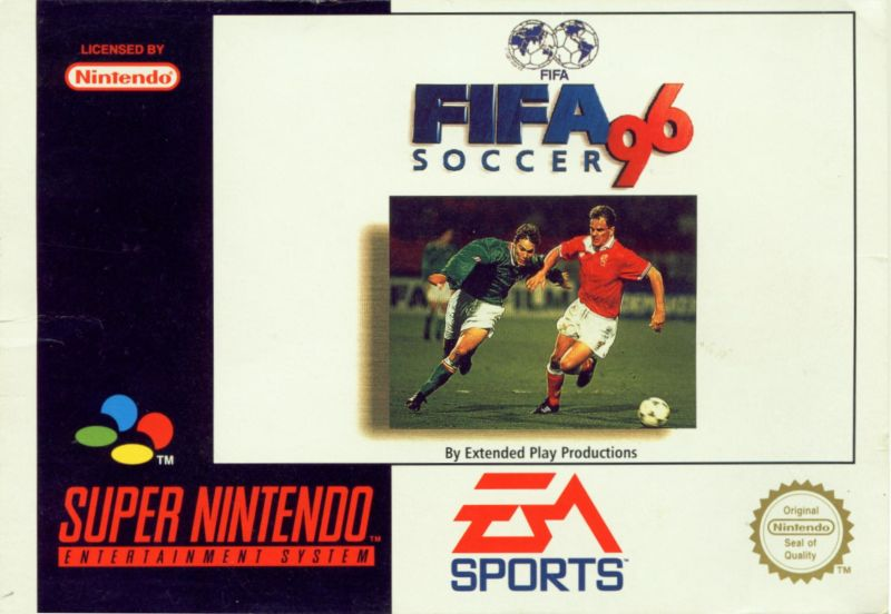 Fifa Soccer 96 For Snes 1995 Mobygames