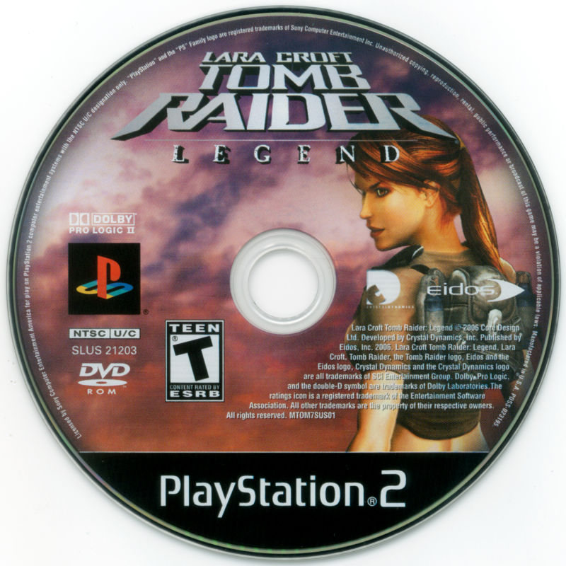 Lara Croft: Tomb Raider - Legend PlayStation 2 Media